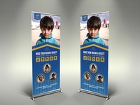 Kids Charity Signage Template