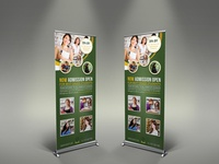 Education Sigange Roll Up Template