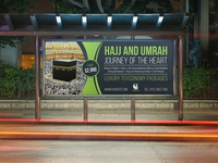 Hajj And Umrah Billboard Template