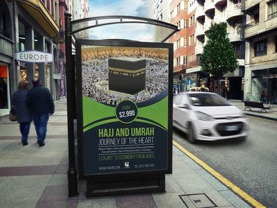 Hajj And Umrah Poster Template