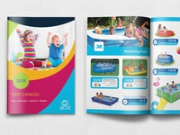 Toys Catalog Brochure Template