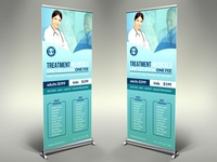 Medical Care Signage Template