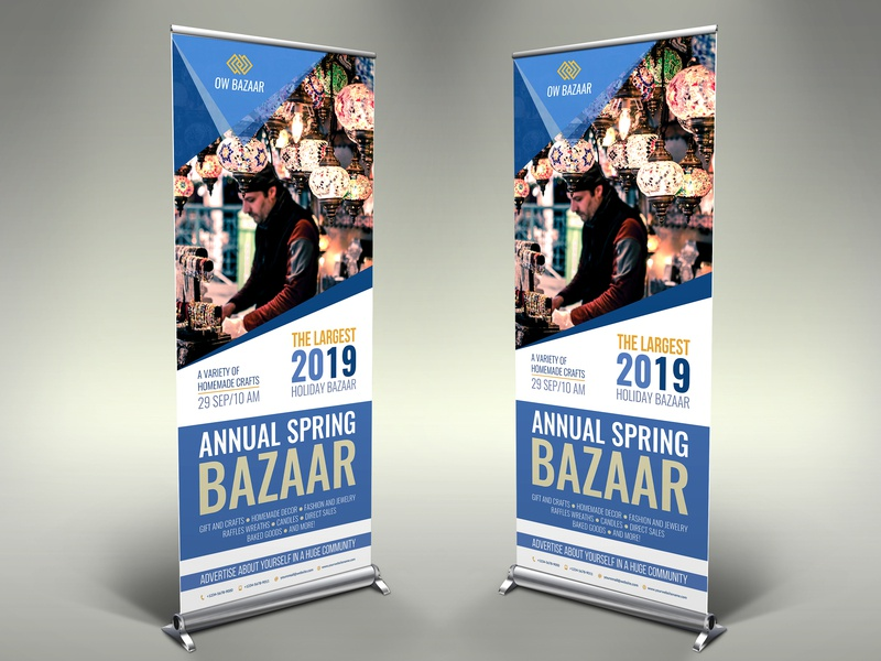 Bazaar Signage Roll Up Banner Template homemade heap garage sale friends flea-market fashion excited dresses dress clothes choice cheering cheap buy bazzar bazaar bargaining bargain adolescents accessories