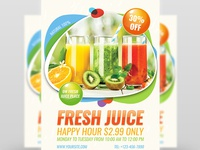 Fresh Juice Flyer Template