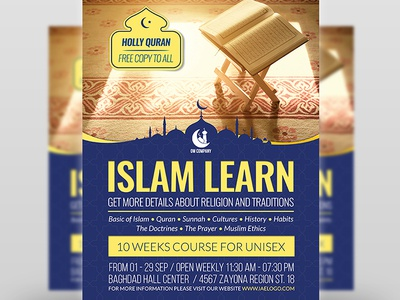 Islamic Flyer Template