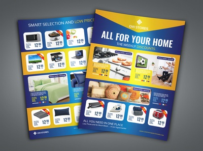 Products Catalog Flyer Template