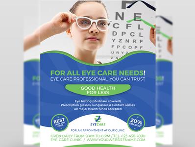 Optometrist Optician Flyer Template