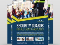 Security Guards Flyer Template