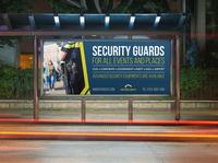 Security Guard Billboard Template