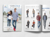 Fashion Catalog Brochure Template - 24 Pages
