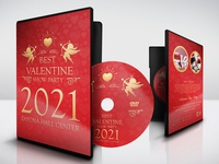 Valentine Day Party DVD Template
