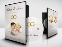 Wedding DVD Cover and Label Template