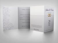 Weeding Invitation Card Template