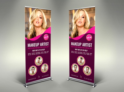 Beauty Center Signage Template