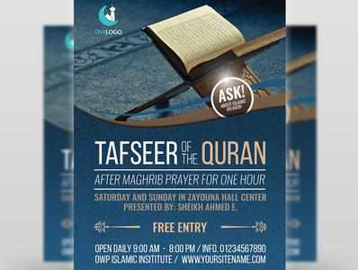 Islamic Flyer Template