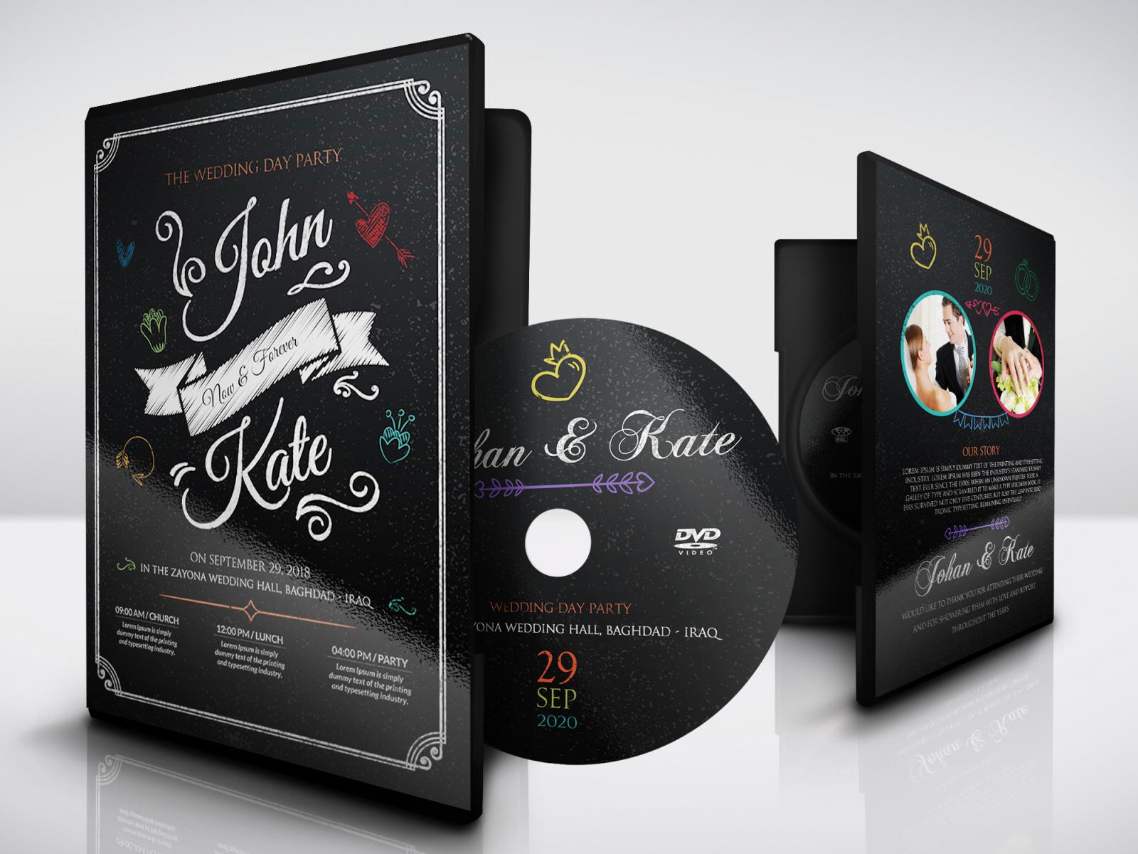 Dvd Cover Design Template from cdn.dribbble.com