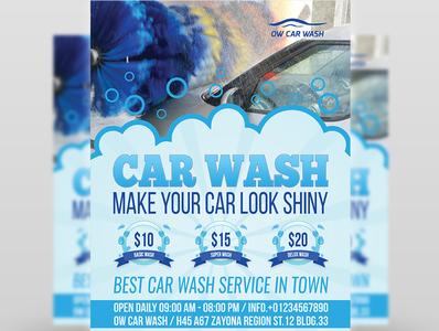 Car Wash Flyer Template