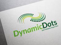 Dynamic Dots Logo Template