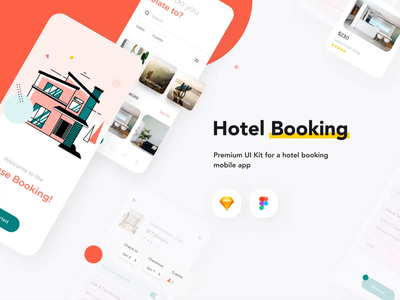 House Booking UI8 mobile KIT uidesign appartment house rent search interaction user experience userinterface animations motion ui8 kit animation mobile design ux ui