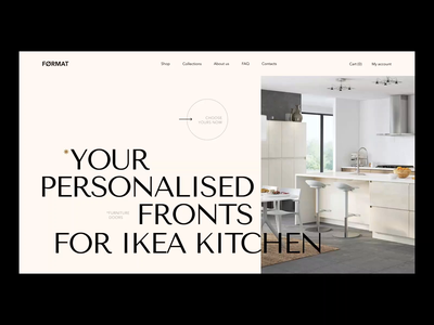 Format web site design interaction homepage design website design landing design motion graphic typogaphy interaction design typography animation design motiongraphics kitchen video animated gif interaction motion illustration animation design ux ui