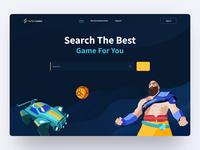 The filter games website live website design interaction search games game design motion graphics motiongraphics interaction typography illustration motion animation design ux ui