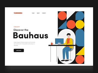 Bauhausinteriors landing page animation