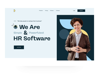 Smarty HR landing page interaction ux animation landing design design user experience design human resource hr user user interface design landing page ui landing page design landing page interaction landing page landing ux design ui design user experience user interface ui