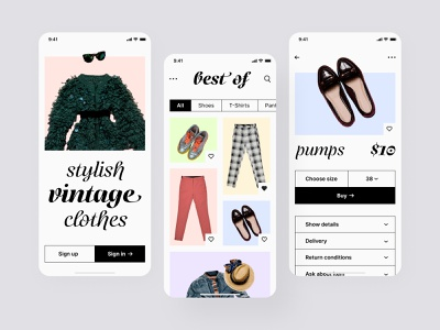 Vintage store mobile app android app ios app ios ios user experience ios user interface mobile application application design ios app design android app design mobile app design app design appliocation mobile app design app designmobile app design mobile app mobile