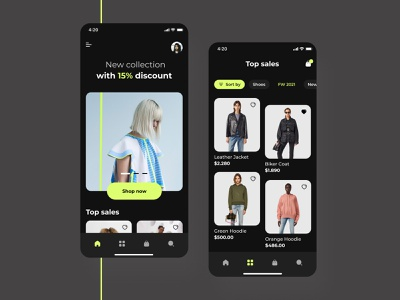 Fashion store mobile app android design ios design ios app design ios app android app fashion app design fashion app fashion home home screen app application app design mobile mobile app ux ui