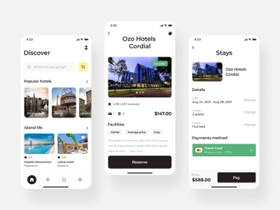 Stays discover iOS mobile app app design app application android ios android app hotels hotel traveling design ios ui android ui android mobile app ios mobile app mobile app design mobile user experience user interface ux ui