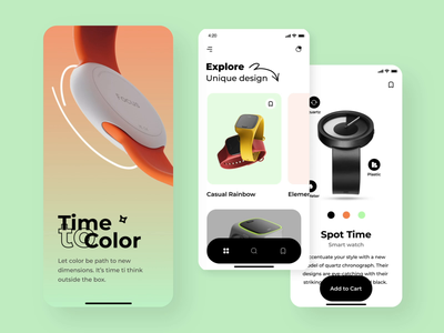 Time to color mobile app interaction android mobile app ios mobile app mobile application mobile app design mobile app mobile android design ios design android ios clock watch ui interction ui motion animation interaction motion design ux ui