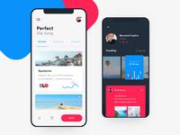 Traveler app concept