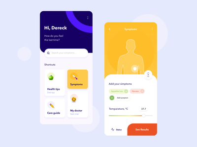 Body application mobile interaction illustration design mobile app illustrations yellow heart activity interaction motion mobile ui illustration graph android button ios animation typography mobile design ux ui