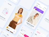 Clother app interaction design