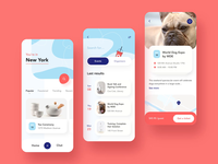 Event ios mobile app animation