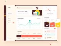 Pointer dashboard user interface design