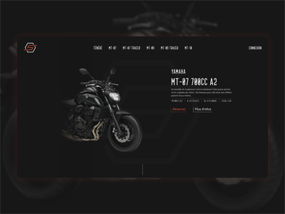 Starter Location Motorcycle rental motor motorbike location vector design ux web rental uiux ui motorcycle moto rent