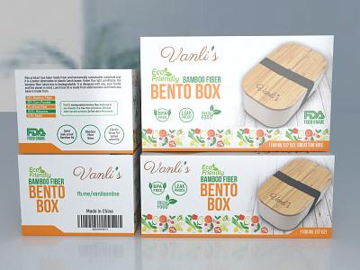 BENTO Box Packaging eyecatching illustration ux packaging boxdesign creativebox painting product design packaging illustration packagingart branding graphic design pacakging box pacaging design box 3d