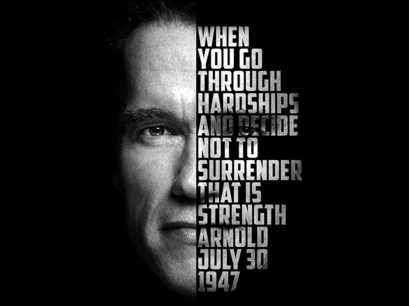 Arnold Schwarzenegger by Lindomar Jon-Ming on Dribbble