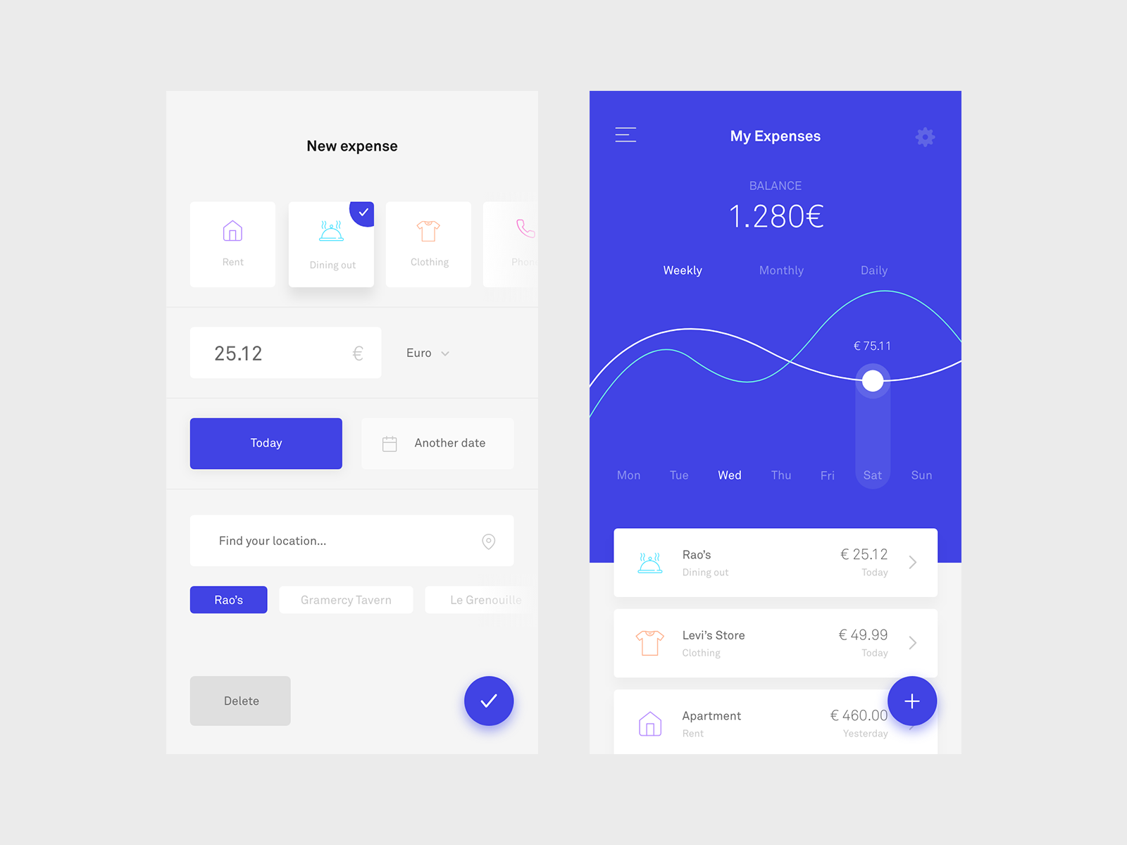 UI Inspiration: This week's selections from Luboš Volkov, George Henderson and more