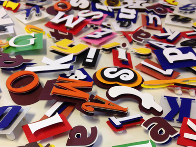 Fazer paper typography tactile typography typography tactile paper candy