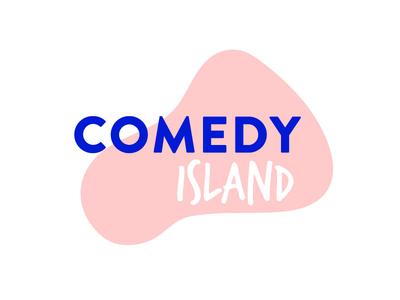 Comedy Island Logo logo island comedy
