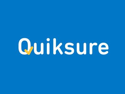 Quiksure logo check logo quick online insurance