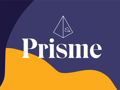 Prism type logo triangles illustrator diamond prism