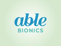 Able Bionics Brand