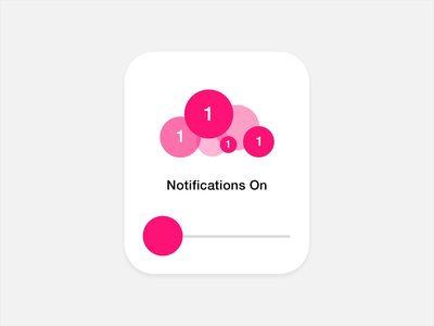 Do Not Disturb on off uiux ux ui after effects animation motion design mograph motion design display interface cloud switch toggle mute do not disturb notifications smart watch
