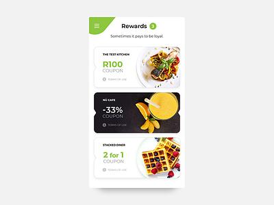 Daily UI #061 - Redeem Coupon sketch wireframe mockup challenge reward redeem discount app voucher design ux ui