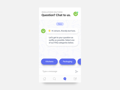 Daily UI #092 - FAQ