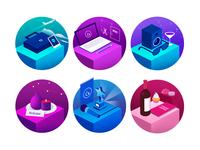 BLEND Service Illustrations