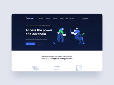 Lisk website